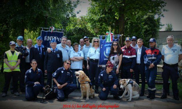 """Presentato il """"gruppo cinofilo"""" dell'Associazione Nazionale Polizia Penitenziaria"""