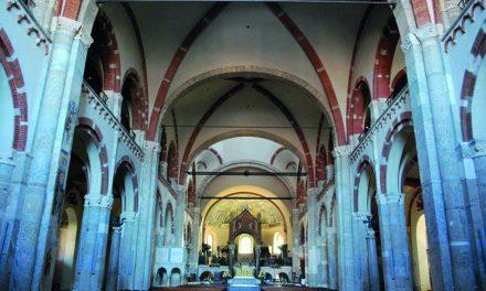 Il canto della Corale nella basilica di S. Ambrogio a Milano