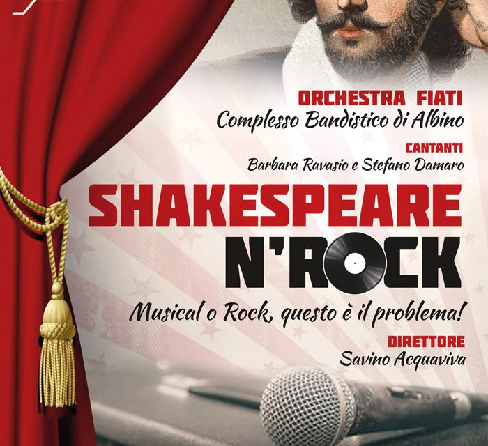 To be or not to be – musical or pop? L'Orchestra Fiati e la rinascita di Shakespeare