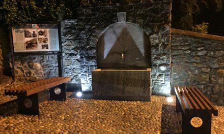Una nuova fontana nella piazza di Rova