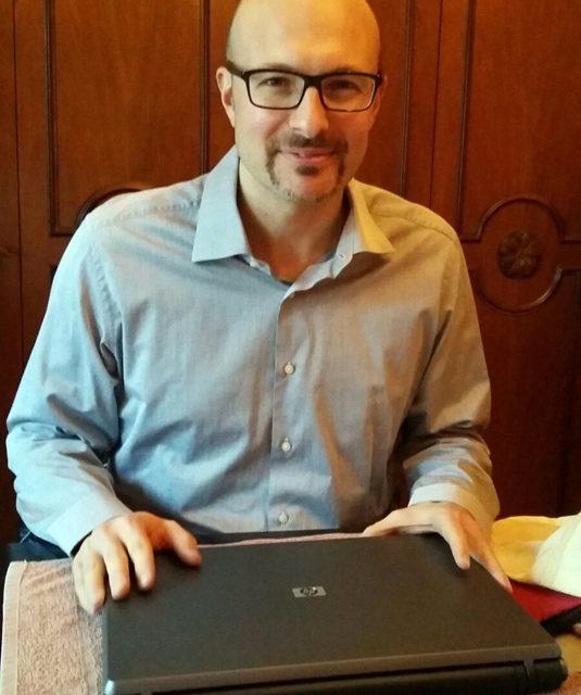 Lo scrittore gazzanighese Saimon Moroni vince un premio nazionale di letteratura