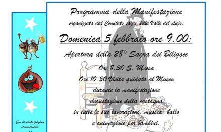 """Cultura e folclore alla 28^ """"Sagra dei Biligocc"""" di Casale"""