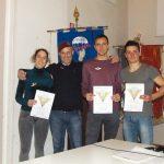 Consegnati i brevetti di lancio del 5° corso paracadutisti durante l'assemblea annuale ordinaria dell'ANPDI Valle Seriana