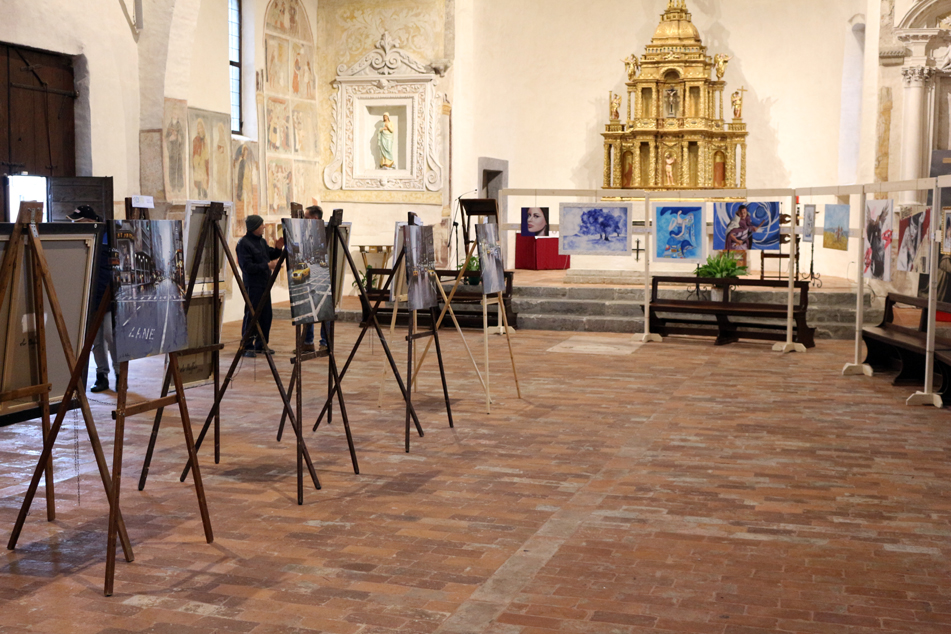 Arte sul Serio in mostra nella chiesa di S. Bartolomeo