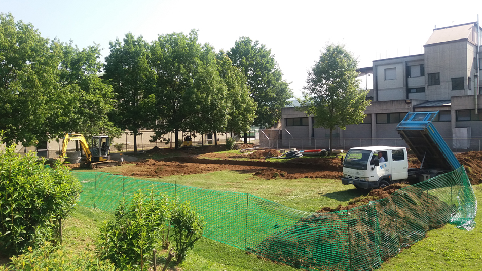 Pronto per l'estate il nuovo campo di beach volley