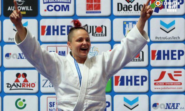 Elen Merelli è campionessa europea Master di Judo–57 kg