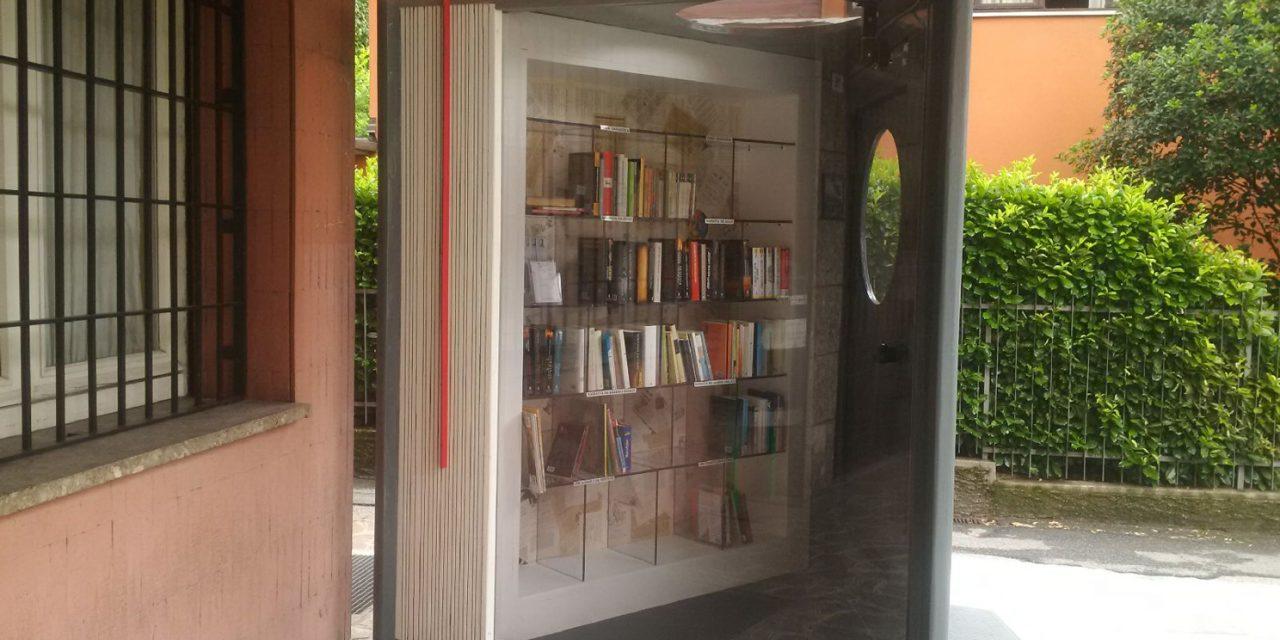"""""""Segnalibro"""", piace la """"casetta dei libri"""""""