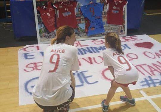 """Dopo 25 anni di carriera, Alice Bonetti saluta la """"Pallavolo Don Colleoni"""", la """"sua"""" squadra"""