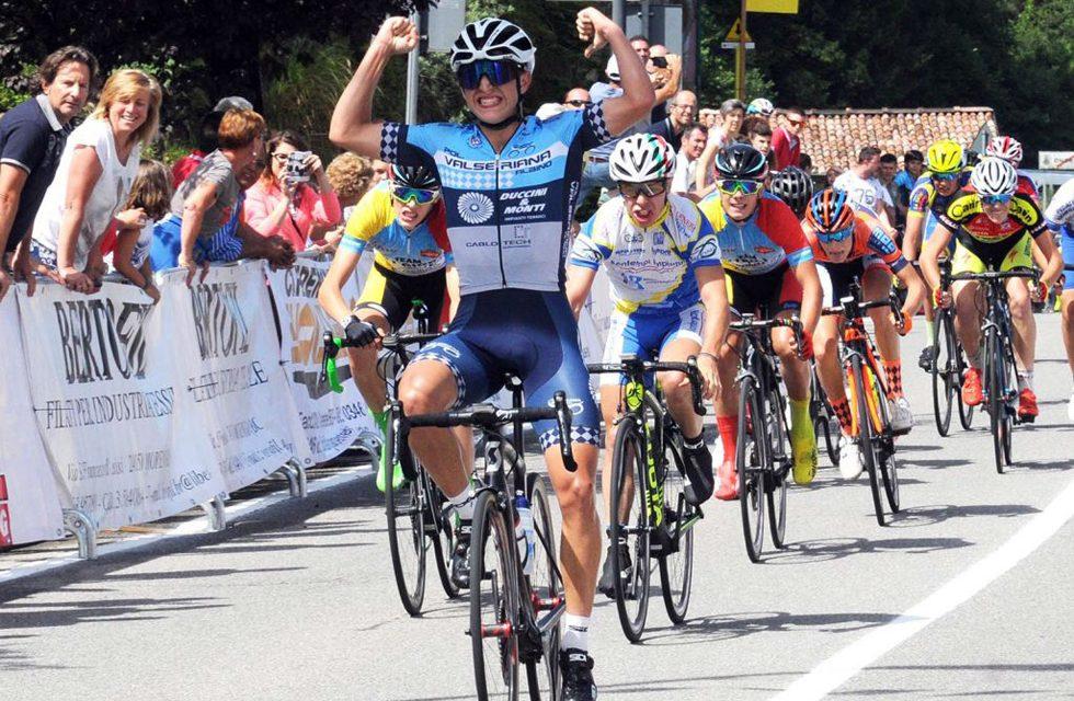 Il 16enne ciclista Davide Persico è campione regionale lombardo su strada, categoria Allievi