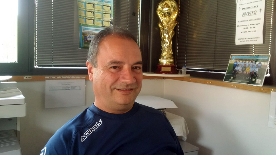 MINO PIAZZINI, Segretario-amministratore dell'ASD Oratorio Albino Calcio