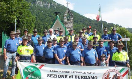 In festa il Gruppo Alpini di Comenduno per i 60 anni di fondazione