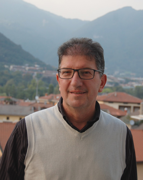 CARMELO RINALDI, Neo-eletto presidente della sezione AVIS di Vertova