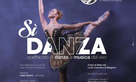 """""""Sì, danza"""" Spettacolo con Carla Fracci e il corpo di ballo del Liceo Coreutico """"A.Locatelli"""" di Bergamo"""