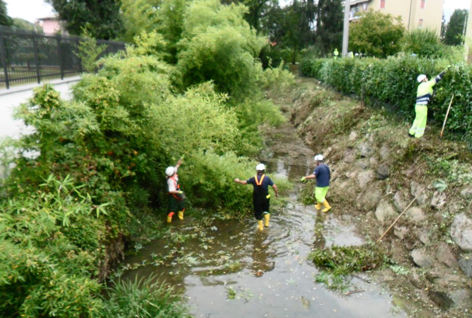 "L'operazione ""Fiumi Sicuri"" anche sul torrente Zerra"