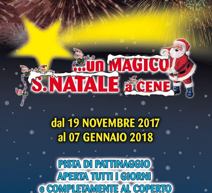 """Nuova veste per l'edizione 2017 di """"…un Magico…S.Natale a Cene"""""""