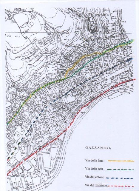 Il tessile nella storia di Gazzaniga