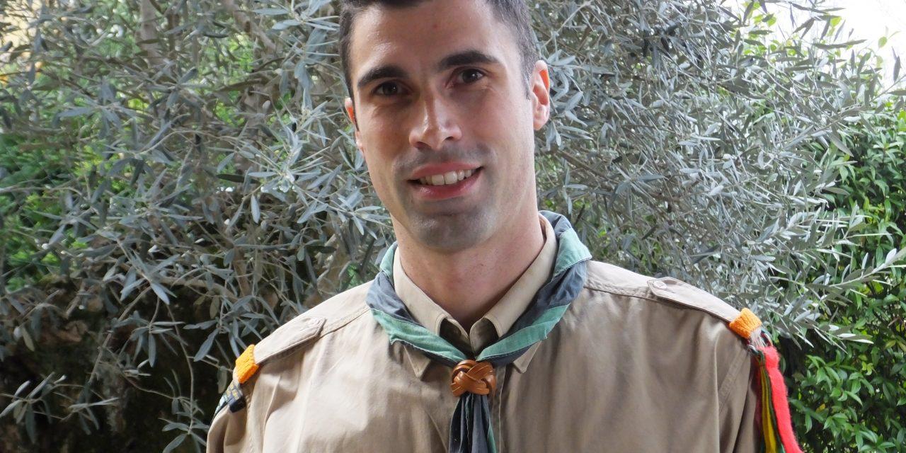Valentino Birolini, Capogruppo Scout di Albino