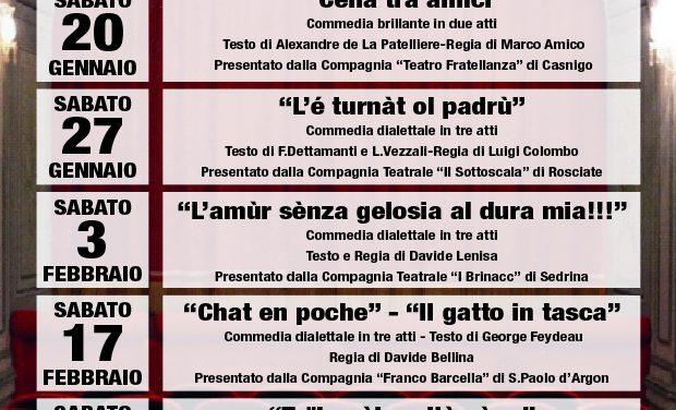 """Tutto pronto per la sesta edizione del """"Festival del Teatro"""""""