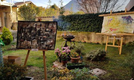 """""""Arte sul Serio"""", con le sue opere, fra la gente di Albino"""