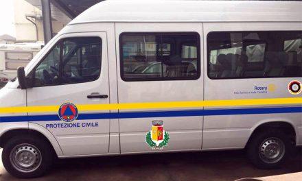 Donato un furgone ai volontari della Protezione Civile