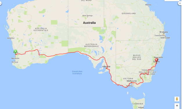 """""""Australia contromano in bicicletta"""""""