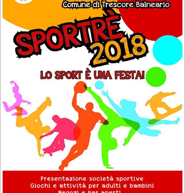 """Arriva """"Sportrè"""", la """"notte bianca"""" dello sport"""