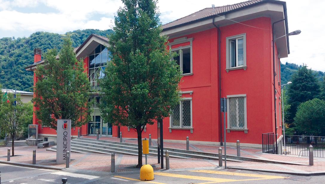 Riorganizzazione degli spazi interni del Municipio