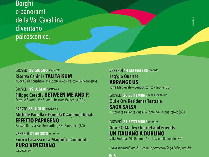 """""""Classica & Contemporaneo"""" in Val Cavallina"""