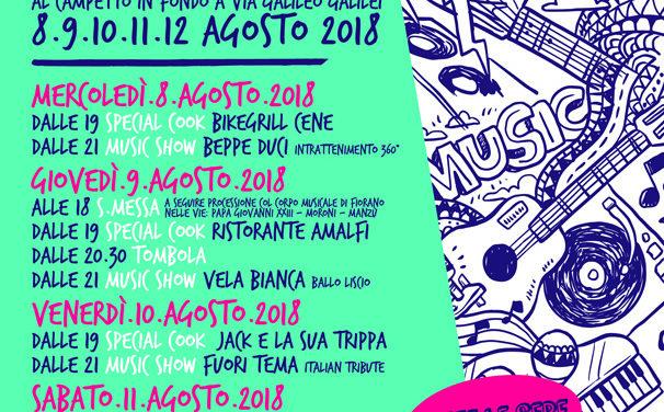 Dall'8 al 12 agosto ritorna la festività di San Fermo