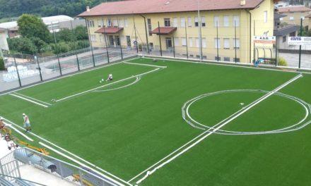 Inaugurato il nuovo campo da calcio a 7 in erba sintetica
