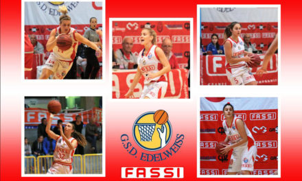 La Fassi Gru Edelweiss Albino al quinto campionato di basket A2 femminile