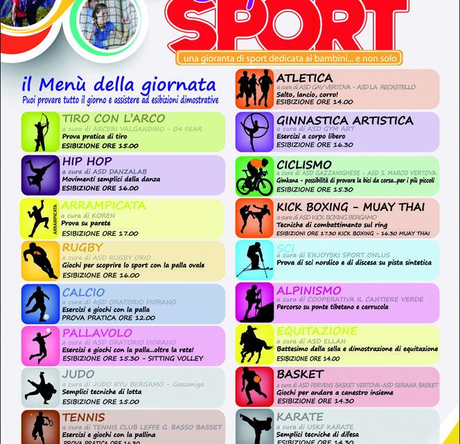 """""""I sapori dello sport"""": quando le discipline sono da…assaggiare"""