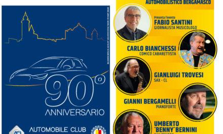 """5 novembre, PalaCreberg: """"ACI MUSIC"""" per i 90 anni di ACI Bergamo"""