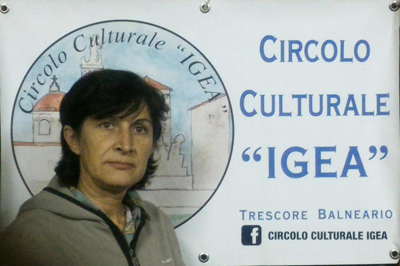 Lucia Zanga, presidente del Circolo Culturale Igea di Trescore