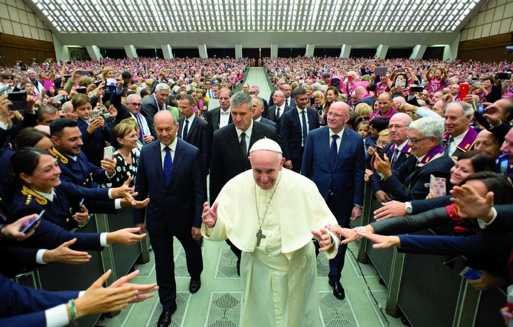 In udienza da Papa Francesco