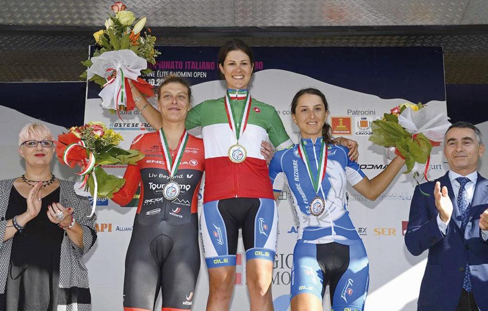 """Rossella Ratto conquista la medaglia di bronzo al campionato italiano """"crono"""" Elite"""