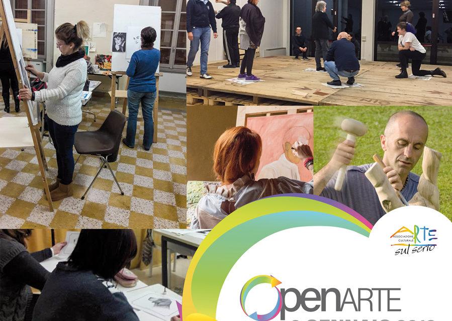 """""""OpenArte"""": il 6 gennaio, """"Arte sul Serio"""" presenta i suoi corsi"""