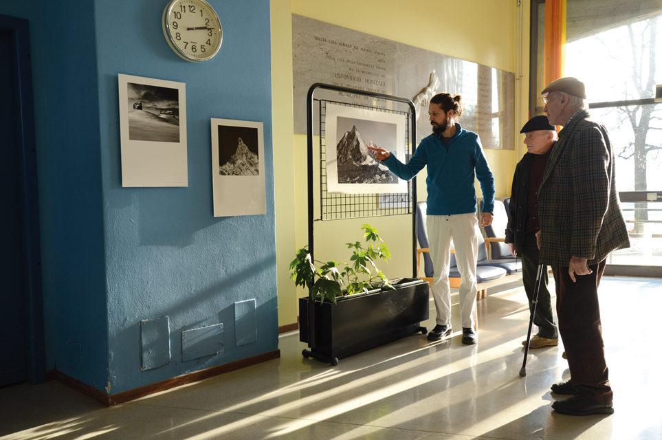 I locali della Fondazione Honegger RSA hanno ospitato la mostra fotografica di Patrizio Previtali