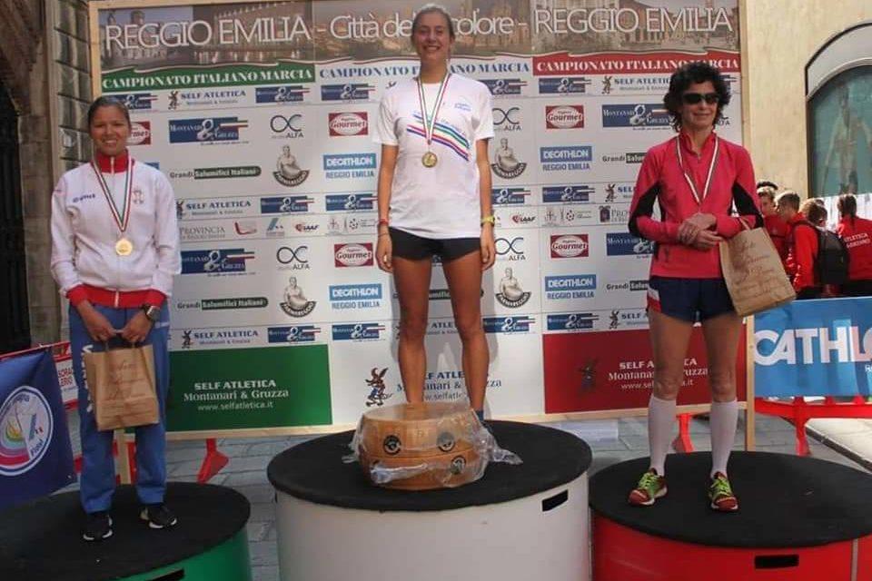 Beatrice Foresti, Campionessa italiana assoluta di marcia 50 km donne