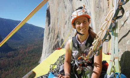 (Eleonora) Lola Delnevo, ex-scalatrice, amante sport outdoor