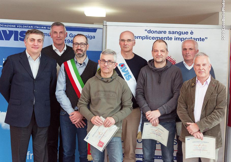 Promuove la cultura della donazione l'AVIS di Gazzaniga