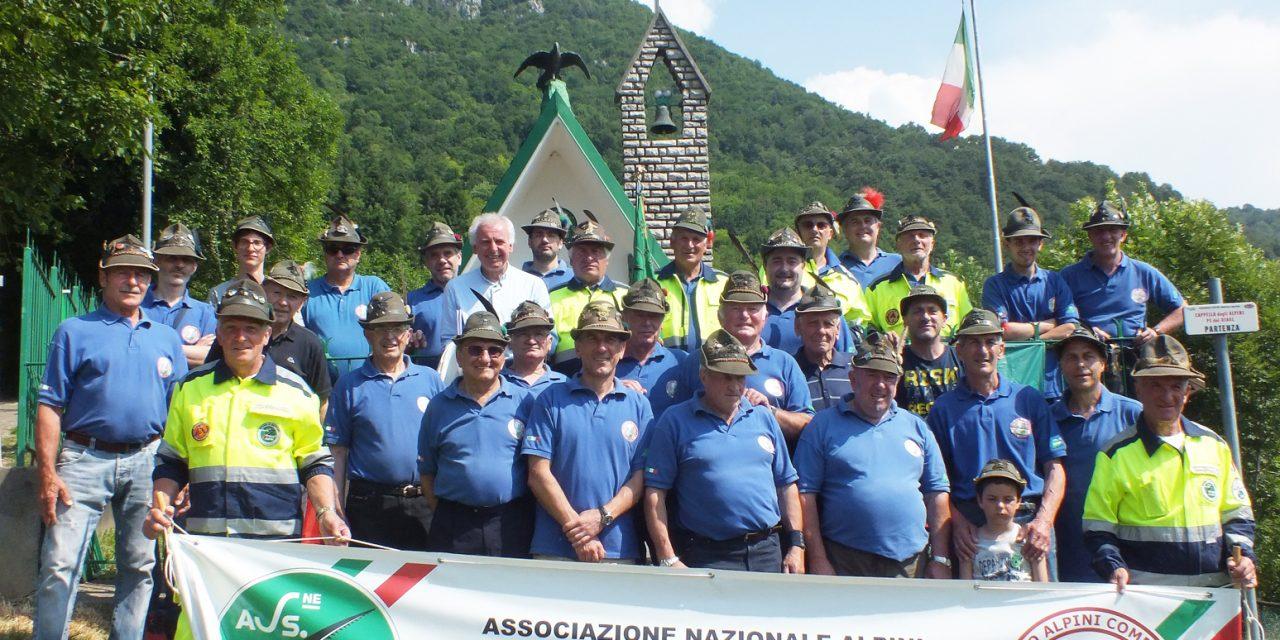 Si rinnova il consiglio direttivo del Gruppo Alpini di Comenduno: confermato Giovanni Suagher