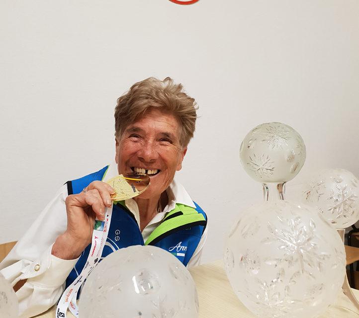 Anna Fabretto Martinelli,  Campionessa del mondo di sci alpino