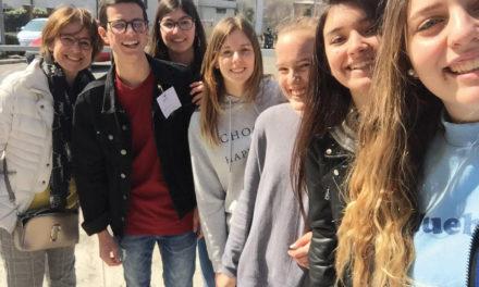 """Per il progetto FAI """"Apprendisti Ciceroni"""" gli studenti del Romero hanno fatto da guide al Santuario della Madonna del Pianto"""