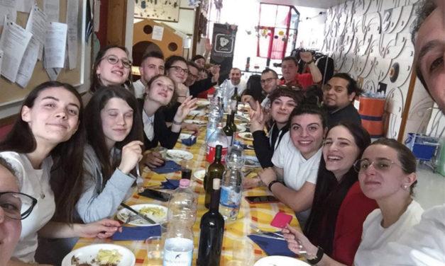 Pranzo sociale banda musicale di Colzate Antonio Coter