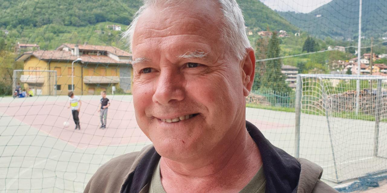 Pierangelo Vigani, Capogruppo Alpini dell'Oltreserio