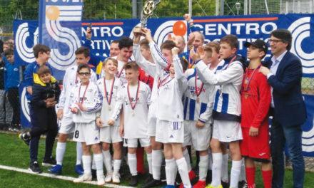 I Giovanissimi a 7 della Polisportiva Vall'Alta sono campioni provinciali 2018-2019