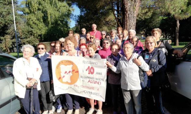 Il Gruppo di Cammino festeggia i dieci anni