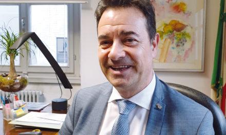 Orlando Gualdi, Sindaco di Vertova