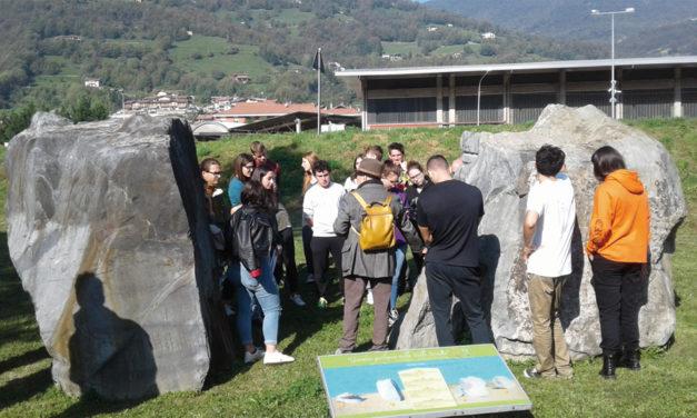 """Lezioni di geologia presso il """"Giardino Geologico"""""""